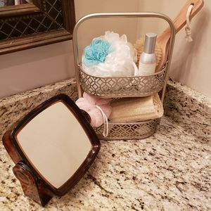 Double Sided Vanity Mirror with Magnification